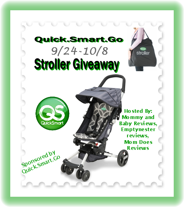Quick.Smart.Go Stroller Giveaway! (rv $280!) ends 10/8