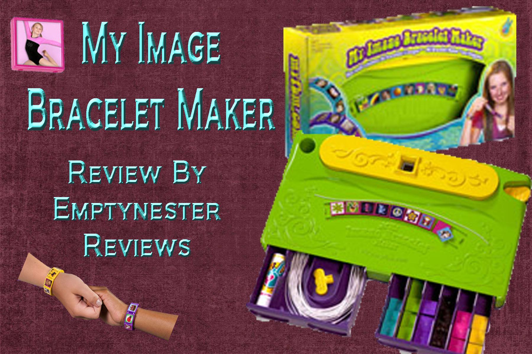 My Image Bracelet Maker review ~ Great Holiday Gift Idea
