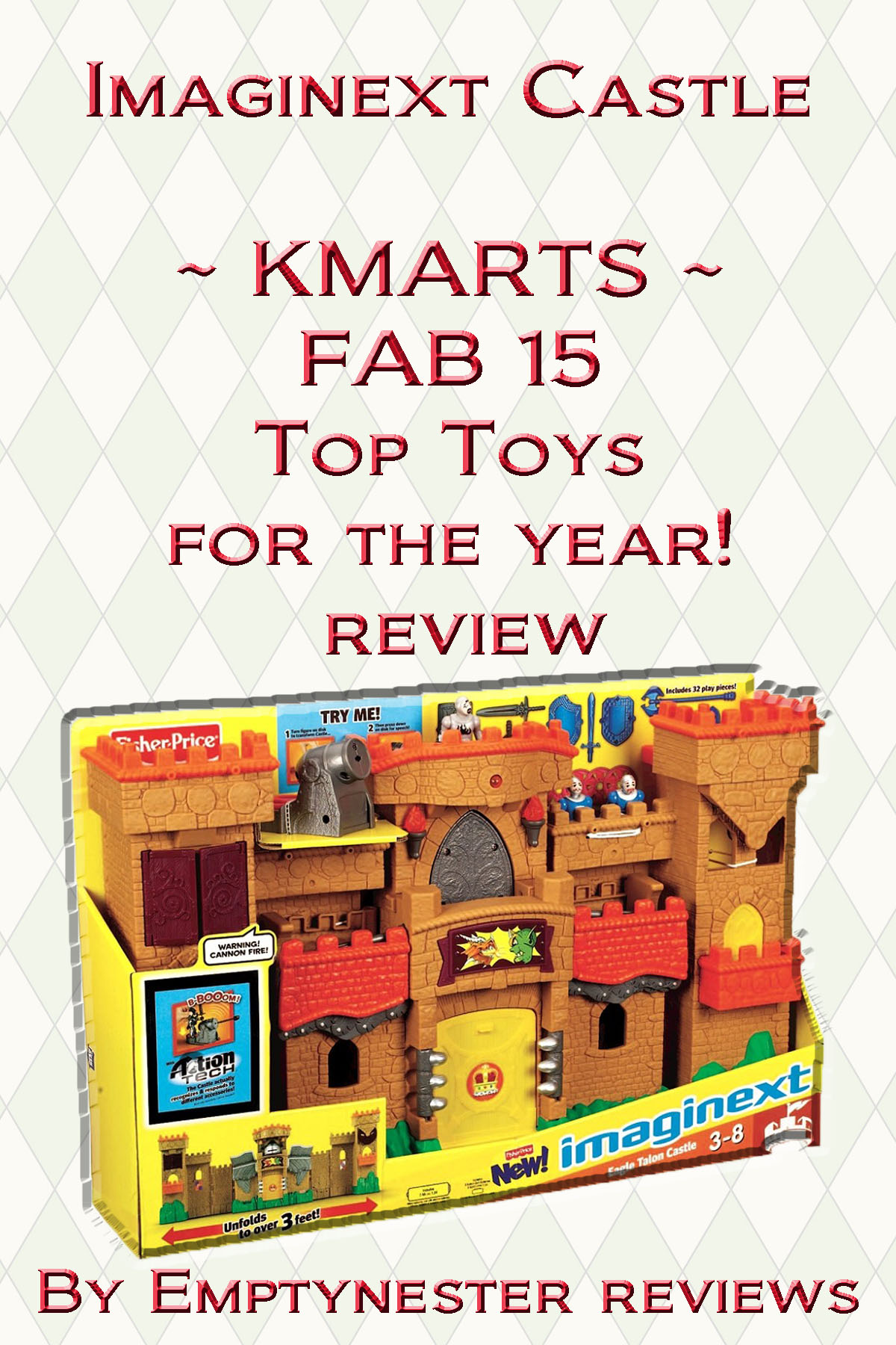 Imaginext Eagle Talon Castle ~ KMARTS FAB15 Top Toys for the year! My review