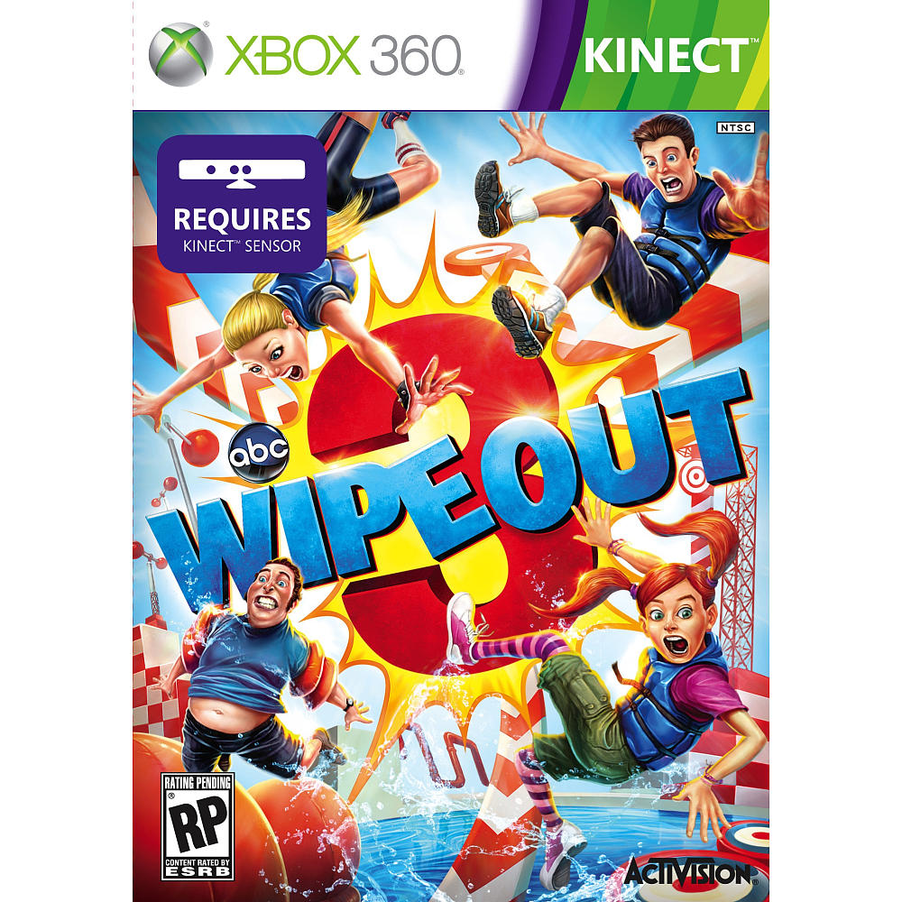 xbox kinect wipeout 3 /3 day flash weekend giveaway~ ends 12/3 US only