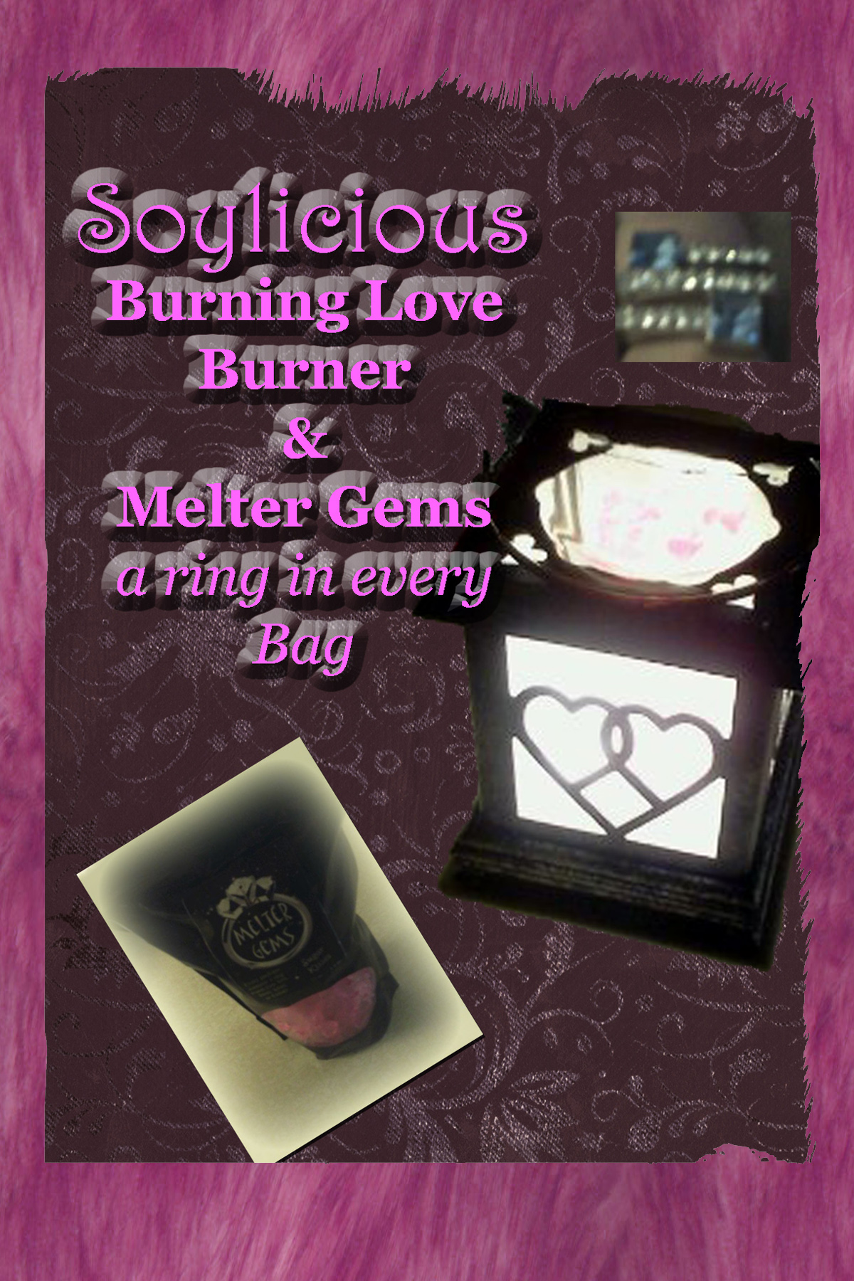 Soylicious Burning love burner and melter gems review