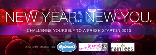 Hylands New Year, New You giveaway n more…using natural/hollistic remedies for your entire family!