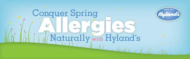 Conquer Spring Allergies Naturally with HYLANDS