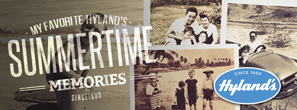 My Favorite Hyland's Summertime Memories #Contest / #giveaway! ends 7/12