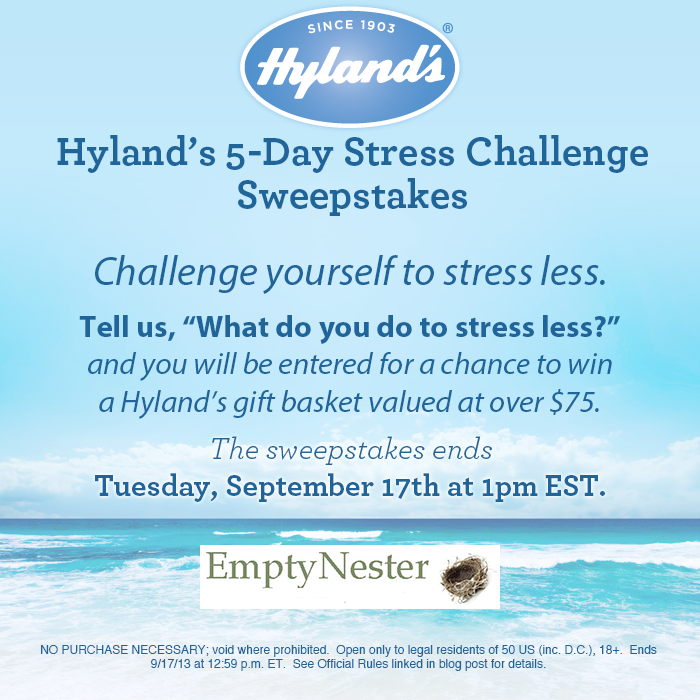 #win Hylands Homeopathic HUGE Prize Pack rv $75 ends 9/16 US only