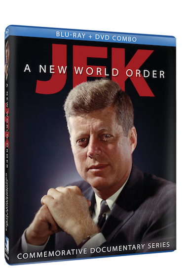 JFK: A NEW WORLD ORDER on Blu-ray and DVD combo pack. 7/7/14 view clips :)