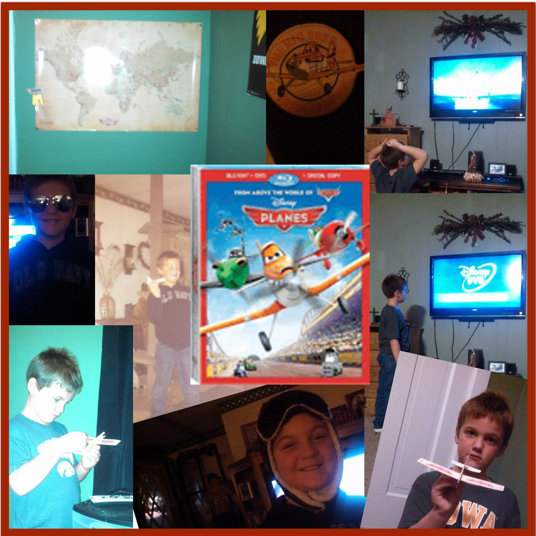 Planes review releases on Blu-ray Combo Pack on November 19th!