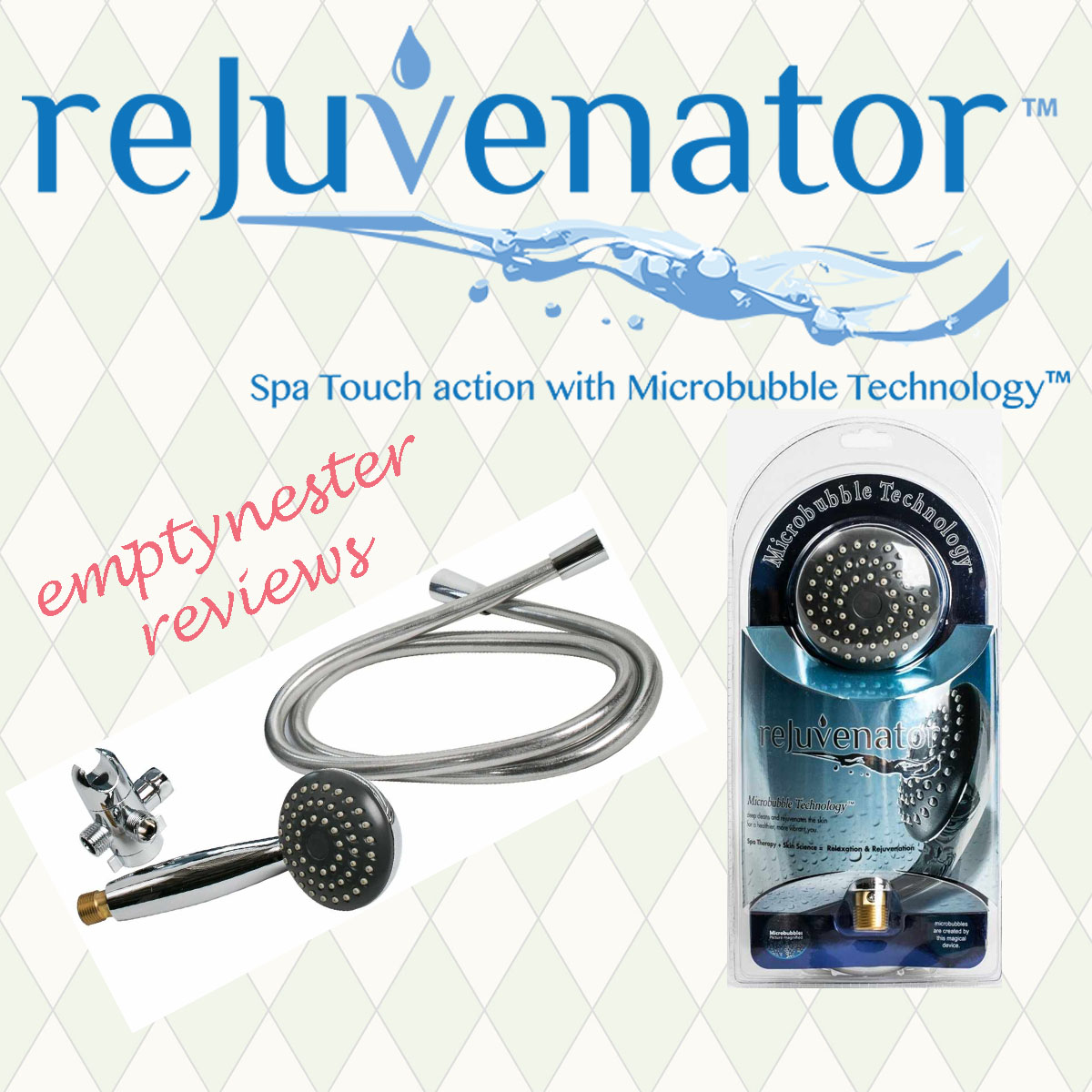 Rejuvenator Microbubble Showerhead Review