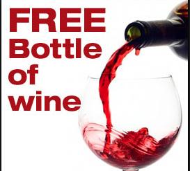 Free Wine from Club W
