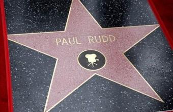 Congratulations Paul Rudd!! The star of Marvel's ANT-MAN