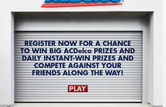ACDelco Garage Sweepstakes and Instant Win Game