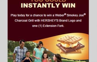 Hershey's S'mores Weber Grill Instant Win Game