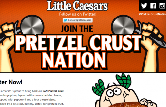 Little Caesar's Pretzel Crust Sweepstakes
