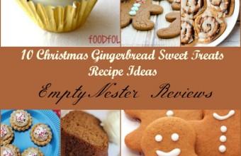 10 Christmas Gingerbread Sweet Treat Recipes Ideas
