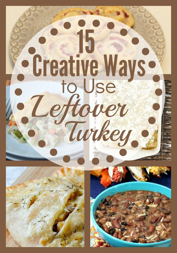 What To Do With Your Left Over Turkey!