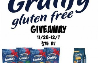 Gratify Gluten Free Holiday package Giveaway!