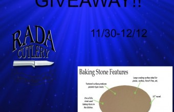 Rada Cutlery: Baking Stone Giveaway