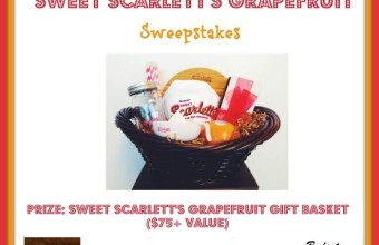 We Love Our Sweet Scarlett Grapefruit Sweepstakes