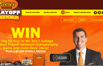 Reese's Playoff Football Sweepstakes