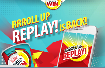 Tim Horton's 'RRRoll Up Replay' Instant Win Game