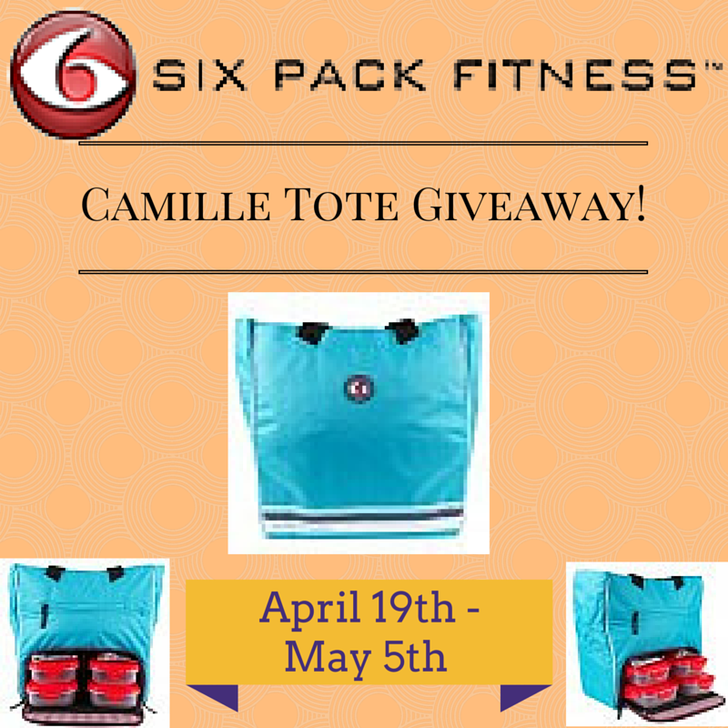 6 Pack Fitness Camille Tote Giveaway!