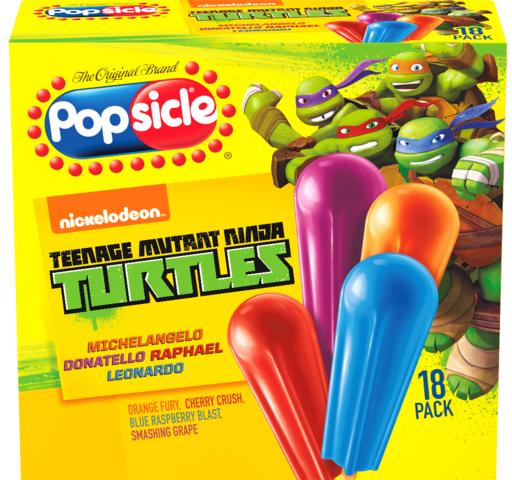 Teenage Mutant Ninja Turtles Popsicles!!!