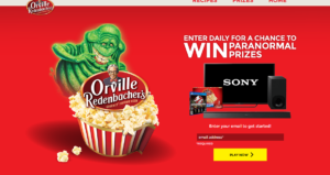 Orville Redenbacher's Ghostbusters Instant Win Game