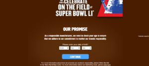 Snickers NFL Super Bowl Instant Win Game