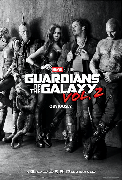 Marvel Studios' GUARDIANS OF THE GALAXY VOL. 2!