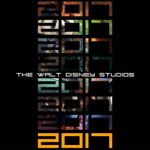 Walt Disney Studios Motion Pictures releases in 2017….Its going to be a good year!!