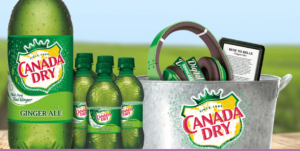Canada Dry Rewards Instant Win Game