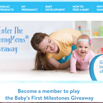 Similac Baby's First Milestones Instant Win Game